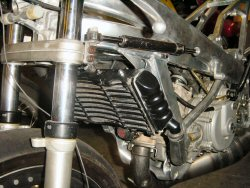 1000 cc street bike radiator